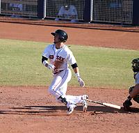 Michael Chavis - Peoria Javelinas - 2017 Arizona Fall League (Bill Mitchell)