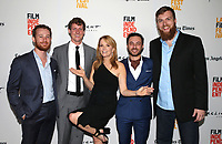 "16 June 2017 - Santa Monica, California - Lea Thompson, Damiano Tucci, Tiziano Tucci, Bryan Koss, Michael J. Wickham. 2017 Los Angeles Film Festival - Premiere Of ""The Year Of Spectacular Men"". Photo Credit: F. Sadou/AdMedia"