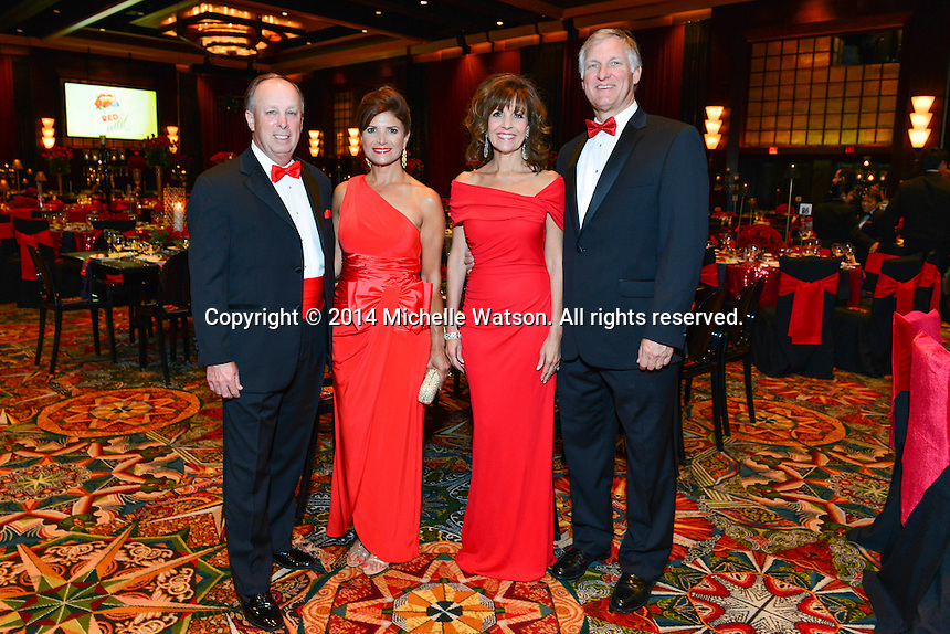 "Memorial Hermann Foundation  ""Red & Wild"" Gala at the Hilton Americas"