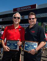 30 May - 1 June, 2014, Englishtown, New Jersey USA Toyota, staff, Ed, Laukes, Keith Dahl @2014, Mark J. Rebilas