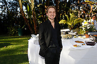 Composer Gerrit Wunder.Austrian National Holiday Celebration with General Consul Dr Karin Proidl.Residenz of the Consul.Los Angeles, California.26 October 2009.Photo by Nina Prommer/Milestone Photo