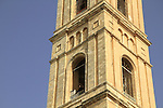 Jerusalem, the bell tower of the Russian Orthodox Church of the Ascension on the Mount of Olives