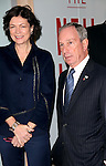"""Diana Taylor & Mayor Michael Bloomberg.arriving for the Opening Night of Neil Simon's """"Bighton Beach Memoirs""""  at the Nederlander Theatre in New York City..October 25, 2009.© Walter McBride /"""