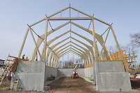 CT-DOT Milford Maintenance Facility & Salt Shed Project #83-25 | 2009-10 for CT Carpentry
