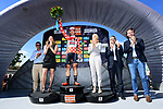 Race leader Thomas De Gendt (BEL) Lotto-Soudal also retains the polka dot jersey at the end of Stage 4 of the Criterium du Dauphine 2017, an individual time trial running 23.5km from La Tour-du-Pin to Bourgoin-Jallieu, France. 7th June 2017. <br /> Picture: ASO/A.Broadway | Cyclefile<br /> <br /> <br /> All photos usage must carry mandatory copyright credit (&copy; Cyclefile | ASO/A.Broadway)