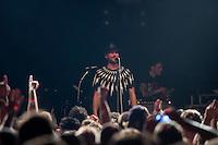Die Berliner Rockband Beatsteaks Live am Donnerstag den 9. Oktober 2014 im Kreuzberger  Club SO36. Das Konzert war nach 5 Minuten mit 850 Karten ausverkauft. Im November 2014 spielt die Band, die 1996 ihren ersten Auftritt im SO36 hatte, in der mit 8.000 Plaetzen ausverkauften Max-Schmeling-Halle. <br /> 9.10.2014, Berlin<br /> Copyright: Christian-Ditsch.de<br /> [Inhaltsveraendernde Manipulation des Fotos nur nach ausdruecklicher Genehmigung des Fotografen. Vereinbarungen ueber Abtretung von Persoenlichkeitsrechten/Model Release der abgebildeten Person/Personen liegen nicht vor. NO MODEL RELEASE! Don't publish without copyright Christian-Ditsch.de, Veroeffentlichung nur mit Fotografennennung, sowie gegen Honorar, MwSt. und Beleg. Konto: I N G - D i B a, IBAN DE58500105175400192269, BIC INGDDEFFXXX, Kontakt: post@christian-ditsch.de<br /> Urhebervermerk wird gemaess Paragraph 13 UHG verlangt.]