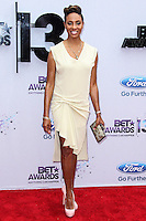 LOS ANGELES, CA - JUNE 30: MC Lyte attends the 2013 BET Awards at Nokia Theatre L.A. Live on June 30, 2013 in Los Angeles, California. (Photo by Celebrity Monitor)