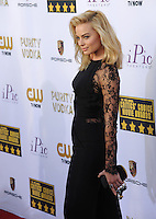 Margot Robbie at the 19th Annual Critics' Choice Awards at The Barker Hangar, Santa Monica Airport.<br /> January 16, 2014  Santa Monica, CA<br /> Picture: Paul Smith / Featureflash