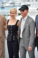 Emilia Clarke &amp; Ron Howard at the photocall for &quot;Solo: A Star Wars Story&quot; at the 71st Festival de Cannes, Cannes, France 15 May 2018<br /> Picture: Paul Smith/Featureflash/SilverHub 0208 004 5359 sales@silverhubmedia.com