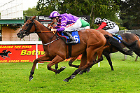 Banff ridden by Jamie Spenser and trained by Olly Murphy during Afternoon Racing at Salisbury Racecourse on 7th August 2017