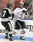 Eric Baier (Providence - 7), Braden Pimm (Northeastern - 14) - The Northeastern University Huskies defeated the visiting Providence College Friars 5-0 on Saturday, November 20, 2010, at Matthews Arena in Boston, Massachusetts.