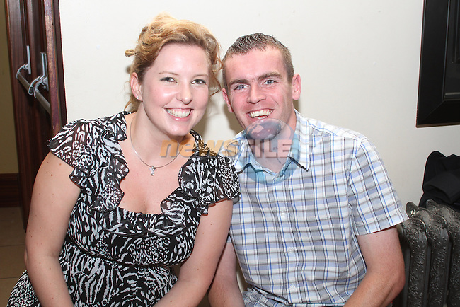 Catherine and Martin O'Neill at the Jock MacHale Tribute Night in McHugh's...Picture Jenny Matthews/Newsfile.ie