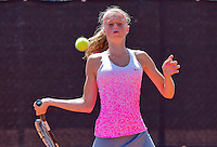 Netherlands, Rotterdam August 05, 2015, Tennis,  National Junior Championships, NJK, TV Victoria,   Gabriëlle Dekkers<br /> Photo: Tennisimages/Henk Koster
