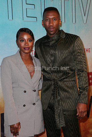 LOS ANGELES, CA - JANUARY 10: Deborah Ayorinde, Mahershala Ali, at the Los Angeles Premiere of HBO's True Detective Season 3 at the Directors Guild Of America in Los Angeles, California on January 10, 2019. Credit: Faye Sadou/MediaPunch