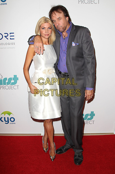 24 June 2014 - Beverly Hills, California - Susan Yeagley, Kevin Nealon. 5th Annual Thirst Project Gala held at the Beverly Hilton Hotel. <br /> CAP/ADM/FS<br /> &copy;Faye Sadou/AdMedia/Capital Pictures
