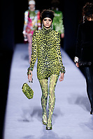 Tom Ford<br /> Fernanda Oliveira<br /> New York Fashion Week <br /> FW18<br /> <br /> New York Fashion Week,  New York, USA in February 2018.<br /> CAP/GOL<br /> &copy;GOL/Capital Pictures