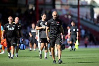Rotherham Manager, Paul Warne, dejectedly walks off at the end of the match after losing 5-1 during Brentford vs Rotherham United, Sky Bet EFL Championship Football at Griffin Park on 4th August 2018