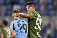 Giovanni Simeone of Cagliari during the Serie A football match between SS Lazio and Cagliari Calcio at Olimpico stadium in Rome ( Italy ), July 23th, 2020. Play resumes behind closed doors following the outbreak of the coronavirus disease. Photo Andrea Staccioli / Insidefoto