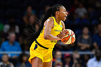 Washington, DC - Aug 8, 2019: Indiana Fever forward Betnijah Laney (44) during 1st half action of game between the Indiana Fever and the Washington Mystics at the Entertainment & Sports Arena in Washington, DC. (Photo by Phil Peters/Media Images International)