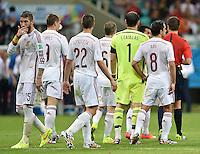 FUSSBALL WM 2014  VORRUNDE    Gruppe B     Spanien - Niederlande                13.06.2014 Enttäuschung Spanien; Sergio Ramos  (li)