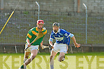 Kilmoyley's James Godley and St Brendan's John Galvin.   Copyright Kerry's Eye 2008