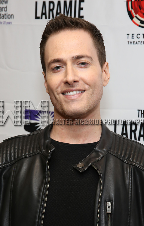 "Randy Rainbow attends the cast photo call for ""Laramie: A Legacy""  on September 24, 2018 at The Gerald W. Lynch Theater at John Jay College in New York City."