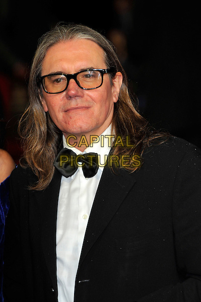 Stephen Woolley (Producer).The 'Great Expectations' closing night gala, the 56th BFI London Film Festival, Odeon Leicster Square cinema, Leicester Square, London, England..October 21st, 2012.headshot portrait black white bow tie tuxedo glasses .CAP/CJ.©Chris Joseph/Capital Pictures.