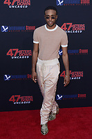 """LOS ANGELES - AUG 13:  Khylin Rhambo at the """"47 Meters Down: Uncaged"""" Los Angeles Premiere at the Village Theater on August 13, 2019 in Westwood, CA"""