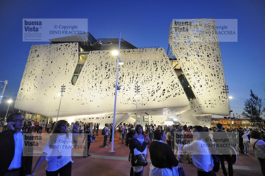 - Milano, Esposizione Mondiale Expo 2015, padiglione italiano &quot;Palazzo Italia&quot; <br /> <br /> - Milan, the World Exhibition Expo 2015, Italian pavilion &quot;Palazzo Italia&quot;