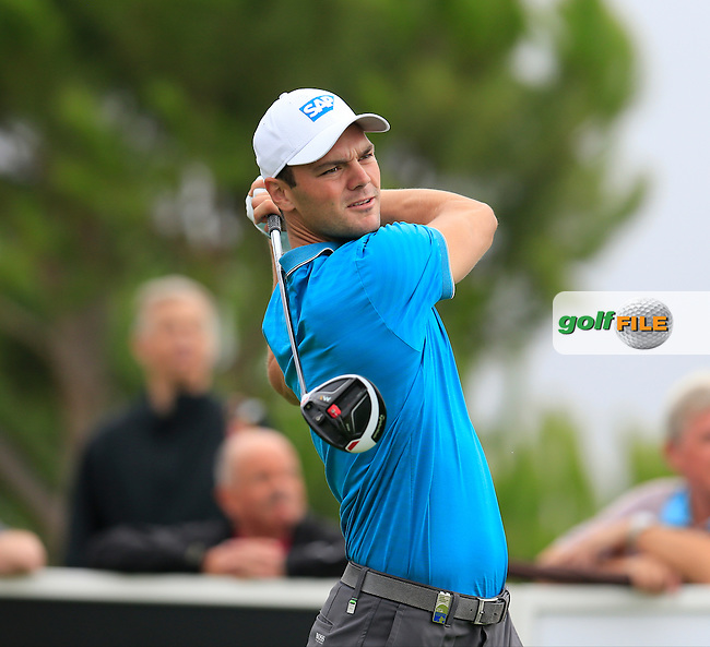 Martin Kaymer (GER) tees off the 15th tee during Saturday's Round 3 of the Portugal Masters 2015 held at the Oceanico Victoria Golf Course, Vilamoura Algarve, Portugal. 15-18th October 2015.<br /> Picture: Eoin Clarke | Golffile<br /> <br /> <br /> <br /> All photos usage must carry mandatory copyright credit (&copy; Golffile | Eoin Clarke)