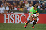Fiji vs South Africa during the HSBC Sevens Wold Series Cup Semi Finals matchas part of the Cathay Pacific / HSBC Hong Kong Sevens at the Hong Kong Stadium on 29 March 2015 in Hong Kong, China. Photo by Victor Fraile / Power Sport Images
