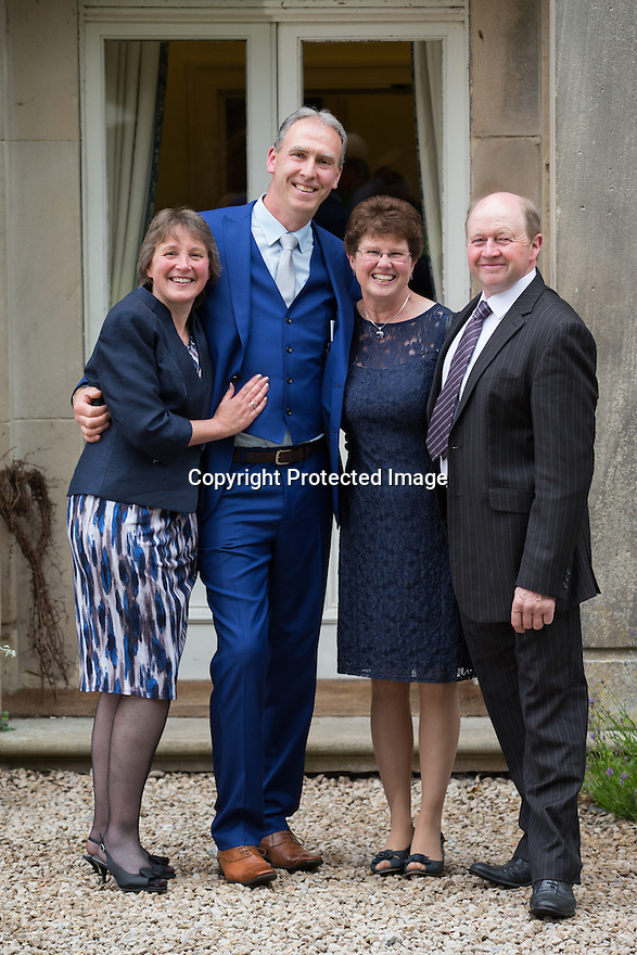 04/07/15<br /> <br /> Ruth and Rob Downing's 25th wedding anniversary at Mayfield Hall, Staffordshire..<br /> <br /> <br /> All Rights Reserved: F Stop Press Ltd. +44(0)1335 418629   www.fstoppress.com.