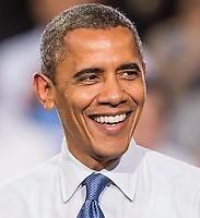LAS VEGAS, NV - October 24:  President Barack Obama at Barack Obama and Katy Perry Block Party at Doolittle Park on October 24, 2012 in Las Vegas, Nevada.  Photo by: Kabik/Starlitepics/MediaPunch Inc. /NortePhoto