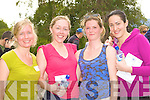 Suzanne Lewis, Joanna Davidson, Jenny Brahin and Mary Lynch Killarney cool down after the 5km fun run in aid of Kerry Hospice in Killarney on Saturday...