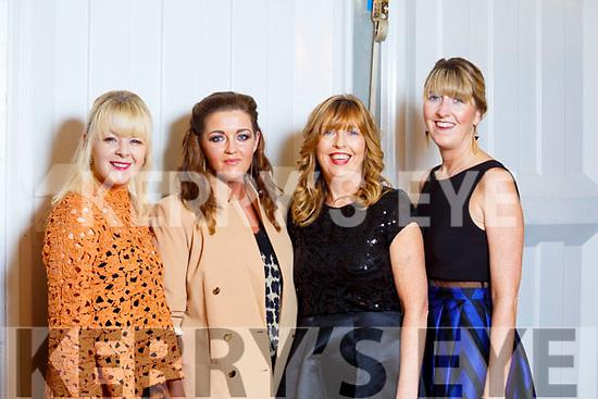 Anne Riordan, Gillian Riordan, Dolores Guirey and Sinead Guirey from Tralee.