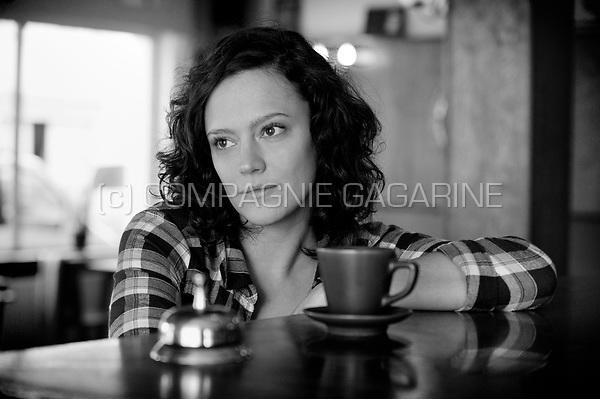 Flemish actress Marieke Dilles (Belgium, 06/02/2012)