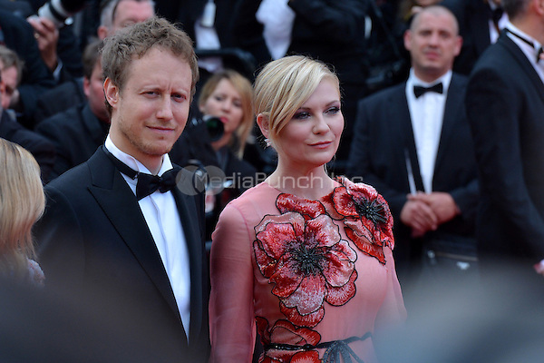 Arnaud Desplechin and Kirsten Dunst at &quot;Cafe Society&quot; &amp; Opening Gala arrivals - The 69th Annual Cannes Film Festival, France on May 11, 2016.<br /> CAP/LAF<br /> &copy;Lafitte/Capital Pictures /MediaPunch ***NORTH AND SOUTH AMERICAN SALES ONLY***