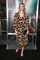 HOLLYWOOD, CA - MARCH 12: Georgia King at The US premiere of Tomb Raider at the TCL Chinese Theatre in Hollywood, California on March 12, 2018. <br /> CAP/MPIFS<br /> &copy;MPIFS/Capital Pictures