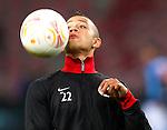 Nederland, Amsterdam, 4 oktober  2012.Seizoen 2012-2013.EuropaLeague.PSV-Napoli.Memphis Depay van PSV in actie met de bal