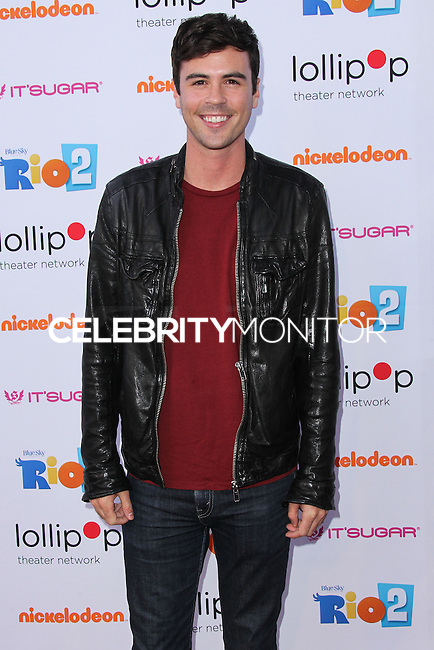 """BURBANK, CA, USA - APRIL 26: Blake Lee at the Lollipop Theater Network's Night Under The Stars Screening Of Twentieth Century Fox's """"Rio 2"""" Hosted by Anne Hathaway held at Nickelodeon Animation Studios on April 26, 2014 in Burbank, California, United States. (Photo by Xavier Collin/Celebrity Monitor)"""