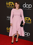 Victoria Alonso  arrives at the 23rd Annual Hollywood Film Awards at The Beverly Hilton Hotel on November 03, 2019 in Beverly Hills, California