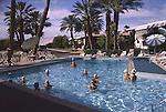 Pool party at Desert Braemar