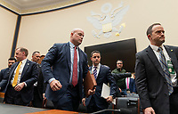 Acting United States Attorney General Matthew G. Whitaker departs after appearing before the US House Judiciary Committee on Capitol Hill in Washington, DC, February 8, 2019. Photo Credit: Chris Kleponis/CNP/AdMedia