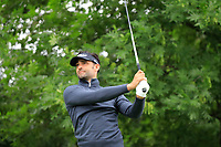 Lee Slattery (ENG) in action during the first round of the Shot Clock Masters, played at Diamond Country Club, Atzenbrugg, Vienna, Austria. 07/06/2018<br /> Picture: Golffile | Phil Inglis<br /> <br /> All photo usage must carry mandatory copyright credit (&copy; Golffile | Phil Inglis)