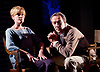Prism <br /> by Terry Johnson <br /> at Hampstead Theatre, London, Great Britain <br /> press photocall <br /> 11th September 2017 <br /> <br /> <br /> Robert Lindsay as Jack Cardiff <br /> <br /> Barnaby Kay as Mason <br /> <br /> Rebecca Night as Lucy <br /> <br /> Claire Skinner as Nicola <br /> <br /> Designed by Tim Shortall<br /> Lighting by Ben Ormerod<br /> Sound by John Leonard <br /> Casting by Suzanne Crowley and Gilly Poole <br /> <br /> <br /> Photograph by Elliott Franks <br /> Image licensed to Elliott Franks Photography Services