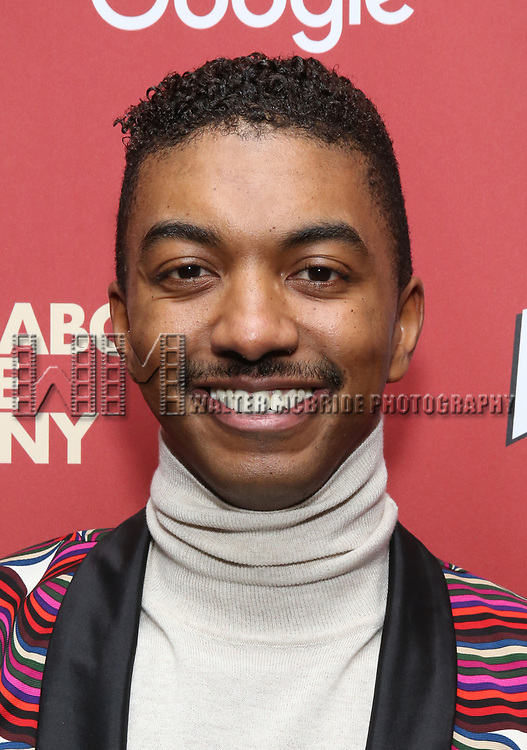 Christian Dante White attends the cast party for the Roundabout Theatre Company presents a One-Night Benefit Concert Reading of 'Damn Yankees' at the Stephen Sondheim Theatre on December 11, 2017 in New York City.