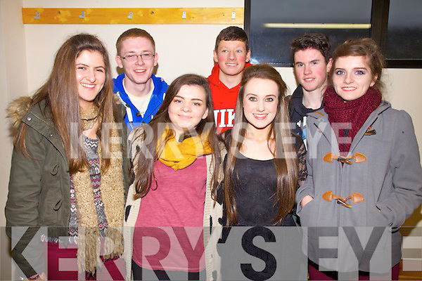 Taking part in the County Finals of Scór na nÓg in Foilmore on Sunday from Na Gaeil were l-r; Meg Hurley, Cian Quirke, Clodagh Griffin, Conor O'Donoghue, Kate Sheehy, Fionán O'Carroll & Alison Moriarty.