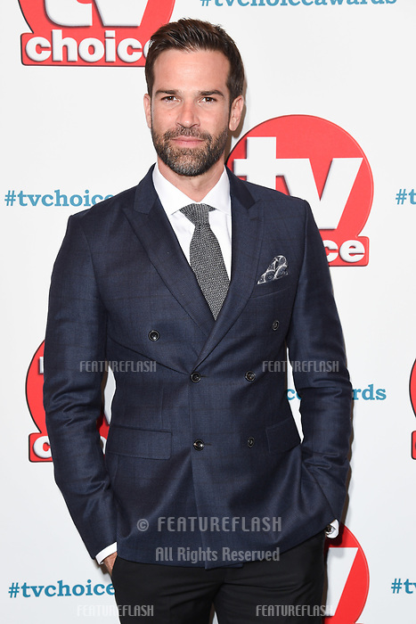 LONDON, UK. September 10, 2018: Gethin Jones at the TV Choice Awards 2018 at the Dorchester Hotel, London.<br /> Picture: Steve Vas/Featureflash