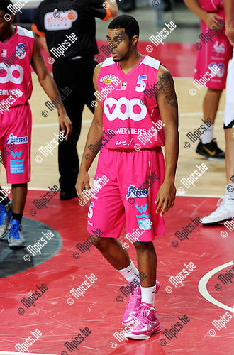 2011-10-25 / Basketbal / seizoen 2011-2012 / Antwerp Giants - Pepinster / Mike Singletary..Foto: Mpics