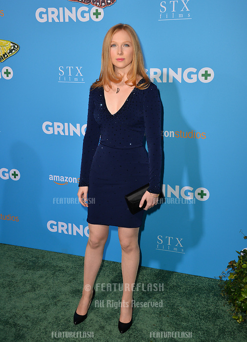 Molly Quinn at the world premiere for &quot;Gringo&quot; at the L.A. Live Regal Cinemas, Los Angeles, USA 06 March 2018<br /> Picture: Paul Smith/Featureflash/SilverHub 0208 004 5359 sales@silverhubmedia.com